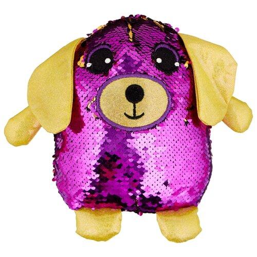 Фото - Мягкая игрушка ABtoys Собака с пайетками фиолетовая 20 см мягкая игрушка abtoys собака m2032 14 см