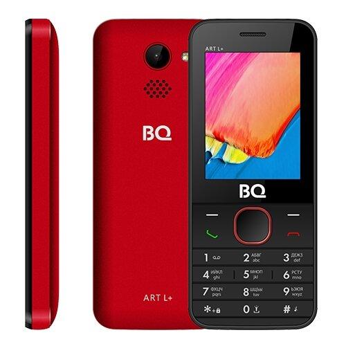 Телефон BQ 2438 ART L+ красный телефон