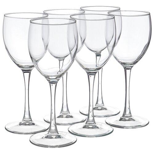 Luminarc Набор бокалов для вина Signature 350 мл 6 шт J0012 стакан luminarc набор drip rouge red 4 шт v 350 мл высокие 754717