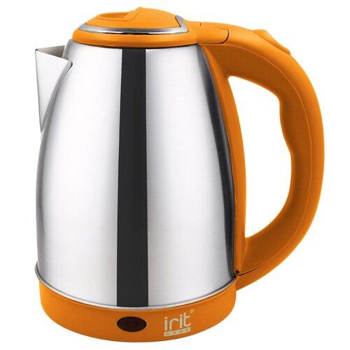 Чайник irit IR-1347, silver/orange