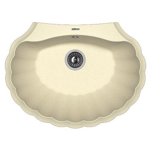 Фото - Врезная кухонная мойка 69.5 см FLORENTINA Гребешок шампань врезная кухонная мойка 69 5 см florentina гребешок мокко