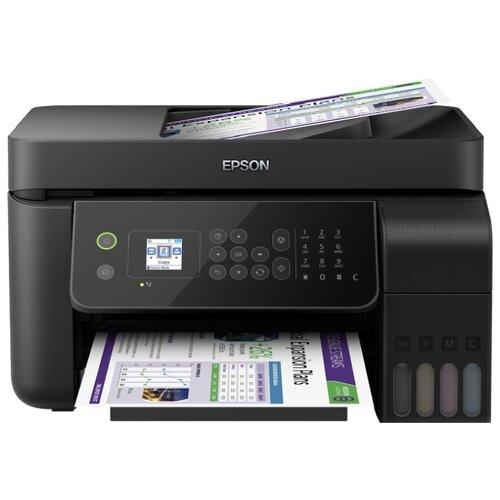 Фото - МФУ Epson L5190, черный мфу epson l4160 черный