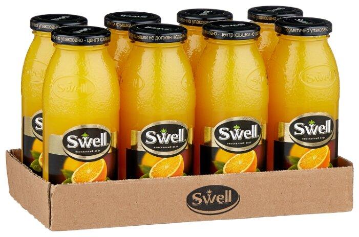 Сок Swell Апельсин, без сахара, 0.25 л, 8 шт.