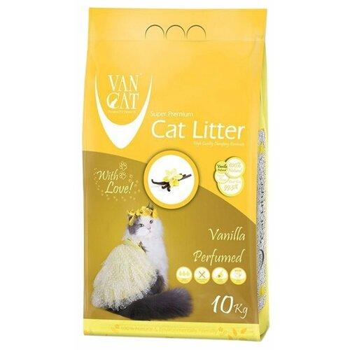 Комкующийся наполнитель Van Cat Vanilla, 10 кг