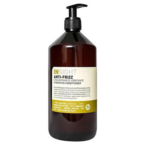 Insight кондиционер Anti-Frizz Hydrating разглаживающий для непослушных волос, 900 мл шампунь для дисциплины непослушных и вьющихся волос insight professional anti frizz hydrating shampoo travel size 100 мл