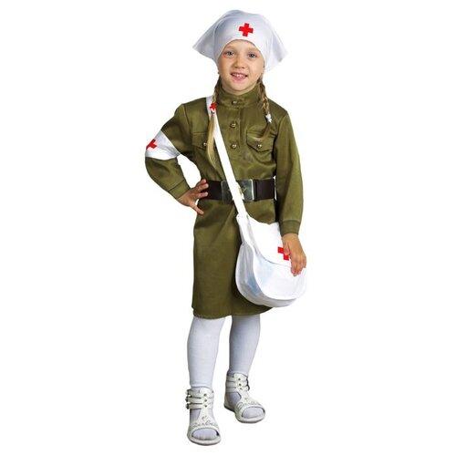 Купить Костюм Страна Карнавалия Медсестра (2547061-2547068), зеленый, размер 128, Карнавальные костюмы