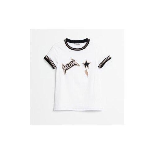 Футболка COCCODRILLO размер 146, белый футболка coccodrillo coccodrillo mp002xg00hvs