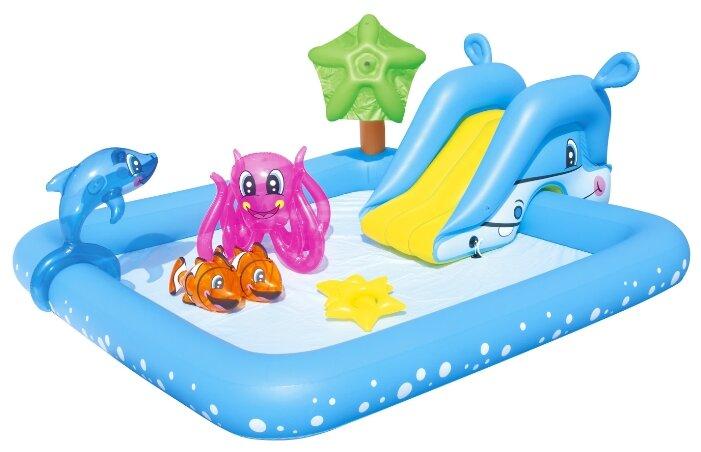 Игровой центр Bestway Fantastic Aquarium с бассейном 53052 купить по цене 2199 на Яндекс.Маркете