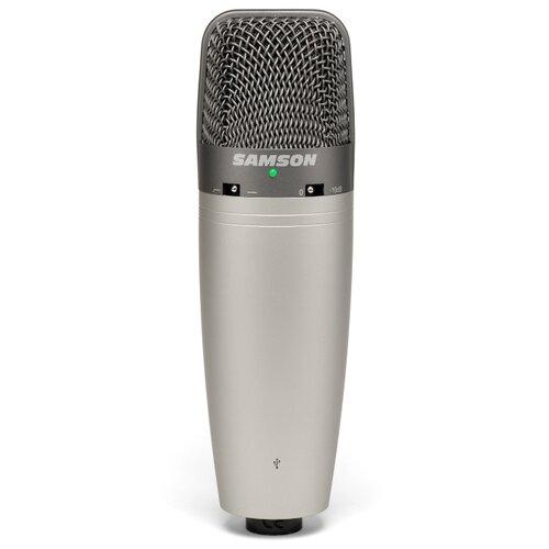 Микрофон Samson C03U, серый