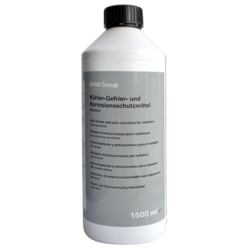 Антифриз BMW Korrosions-Frostschutzmittel G11 1.5 л антифриз aga тосол l40 10 кг