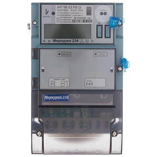 Счетчик электроэнергии трехфазный многотарифный INCOTEX Меркурий 234 ARTM-03 PB.G 5(10) А