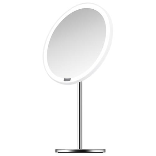 Фото - Зеркало косметическое настольное Xiaomi Yeelight LED Lighting Mirror (YLGJ01YL) с подсветкой белый/серебристый зеркало косметическое настольное planta plm 1725 copper с подсветкой медный никель