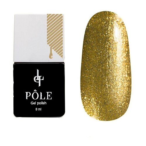 Купить Гель-лак для ногтей Pole Classic line, 8 мл, золото майя