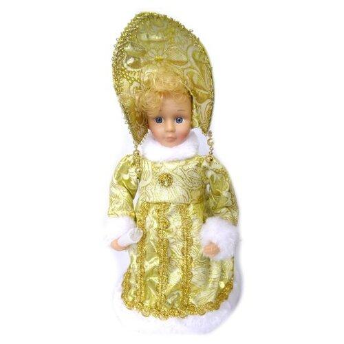 Фигурка Новогодняя Сказка Снегурочка 30 см (973524) золотой