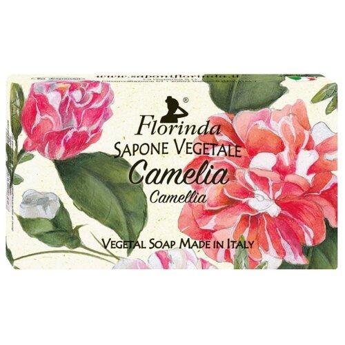 Мыло кусковое Florinda Цветы и Цветы Камелия, 100 г