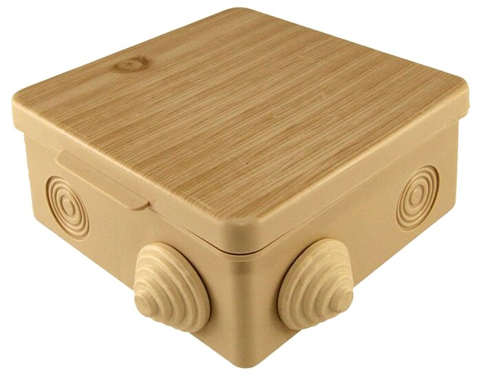 Распределительная коробка TDM ЕLECTRIC SQ1401-0713 наружный монтаж 100x100 мм