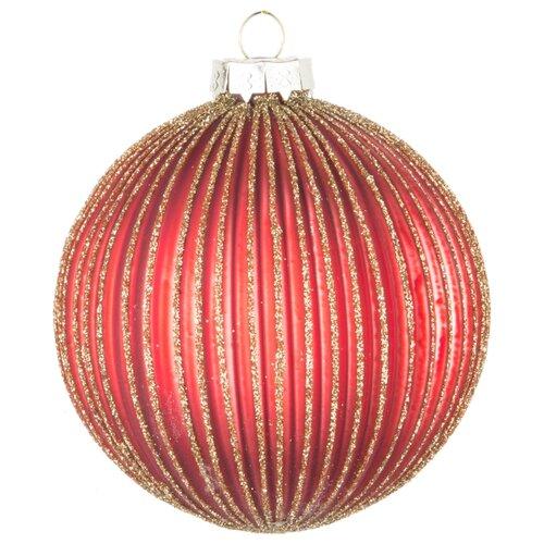Набор шаров KARLSBACH 08492/08497, красный/золотистый