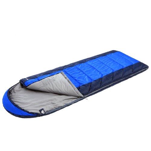 Спальный мешок TREK PLANET Lugano Comfort синий с левой стороны спальник trek planet traveller comfort 70383 r