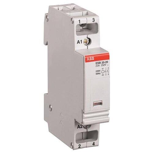 Модульный контактор ABB GHE3211302R0006 контактор esb 20 11 ac abb ghe3211302r0006