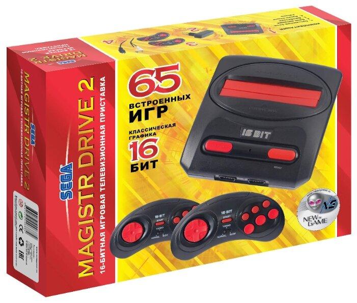 Игровая приставка SEGA Magistr Drive 2 (65 игр)