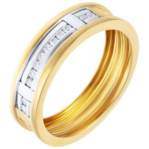 цена на JV Кольцо с 12 бриллиантами из комбинированного золота ASZU94X0P-B40000-60-KO-YG, размер 20.5
