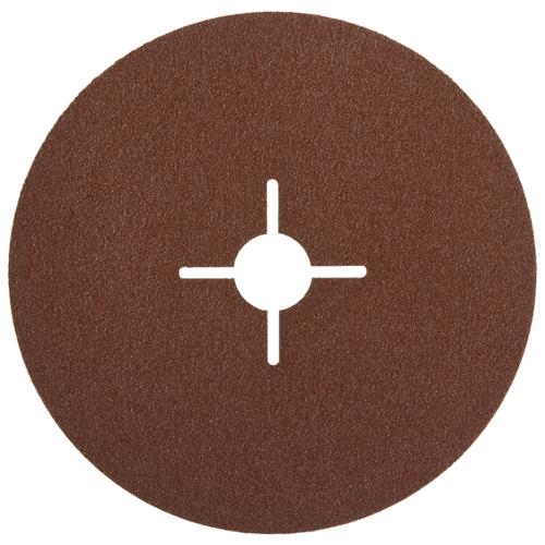 Шлифовальный круг ЗУБР 35585-125-080 125 мм 5 шт круг шлифовальный elitech 1820 038400 5 шт p120 125 мм
