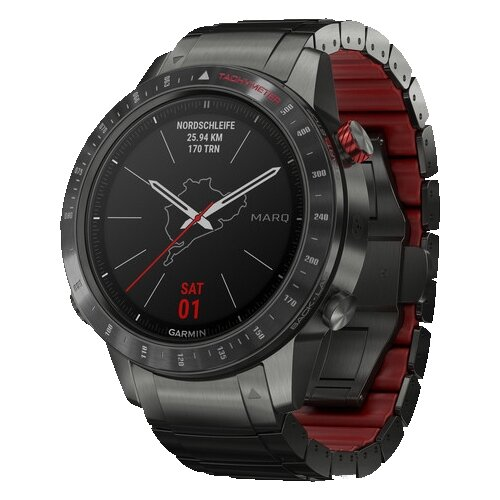 Умные часы Garmin MARQ Driver черный/красный