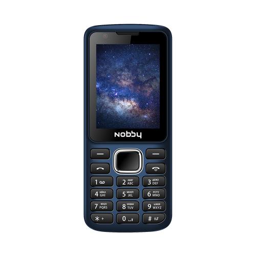 Телефон Nobby 230 синий / черный