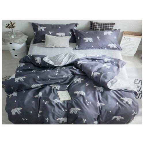 Постельное белье 1.5-спальное Boris CA-19-150-46 полисатинКомплекты<br>