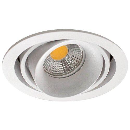 цена на Встраиваемый светильник Donolux Lumme DL18615/01WW-R White/Black