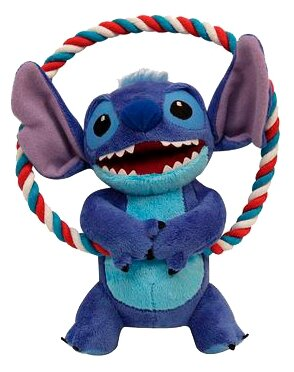 Игрушка для собак Triol Disney Stitch c круглым канатом WD1015/12141072