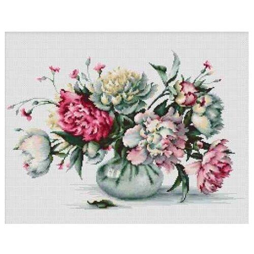 Фото - Luca-S Набор для вышивания Пионы, 34.5 x 23 см, B2263 набор для вышивания luca s b548 клёвое место