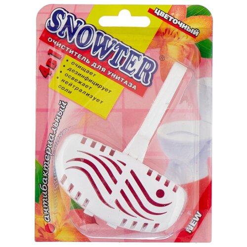Snowter гигиенический блок для унитаза Цветочный 1 шт. очиститель для унитаза snowter запасной блок хвоя 40 г