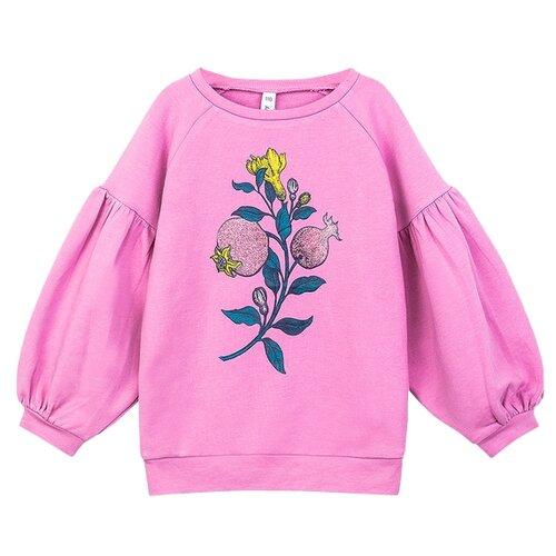 Купить Свитшот playToday размер 116, розовый, Толстовки