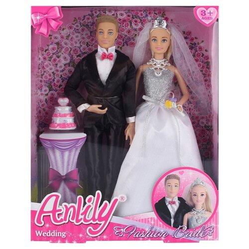Купить Набор кукол Shantou Gepai Anlily Свадьба 99026, Куклы и пупсы