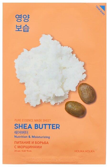 Holika Holika питающая тканевая маска Pure Essence Масло Ши