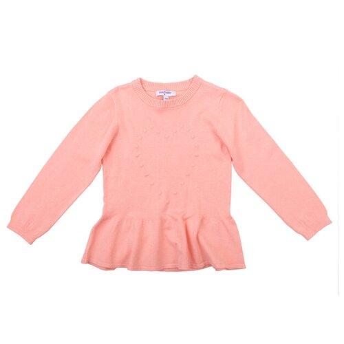 Фото - Джемпер playToday размер 128, светло-розовый джемпер для девочки acoola pansy цвет светло розовый 20220310076 3400 размер 128