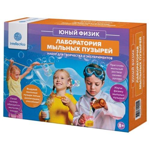 Купить Набор Intellectico Лаборатория мыльных пузырей (219), Наборы для исследований