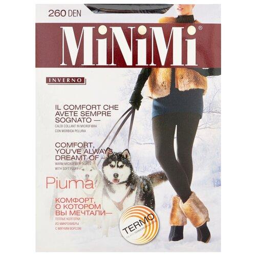 Колготки MiNiMi Piuma 260 den, размер 7-XXXL, nero (черный)