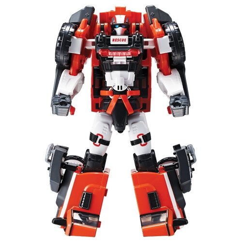 Купить Трансформер YOUNG TOYS Tobot Athlon Ambulan 301074 красный/черный, Роботы и трансформеры