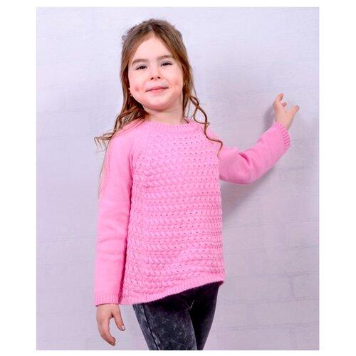 джемпер для мальчика let s go монстры цвет ярко голубой 6257 размер 98 Джемпер Golden Kid`s Art размер 98-104, розовый
