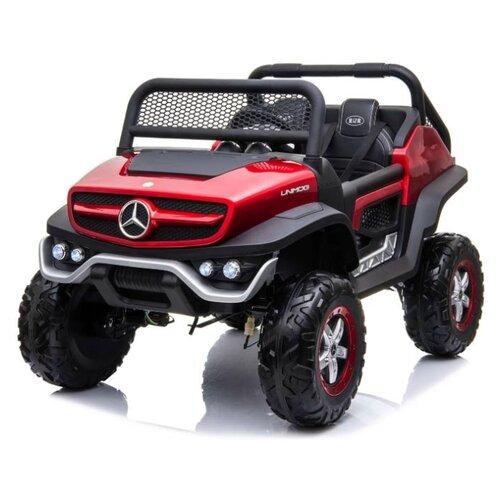 Купить RiverToys Багги Mercedes-Benz Unimog Concept P555BP 4WD, вишневый глянец, Электромобили