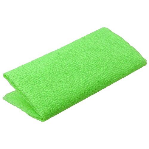 Фото - МОЧАЛКА-ПОЛОТЕНЦЕ ЯПОНСКАЯ 30*90 СМ (1/30) БАННЫЕ ШТУЧКИ 40370 мочалка банные штучки мочалка полотенце японская зеленый