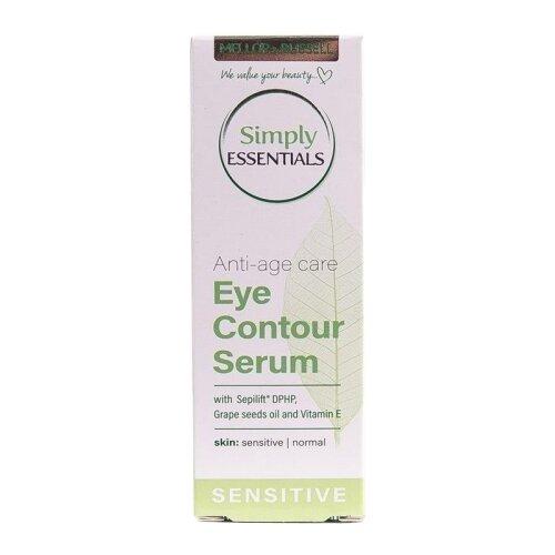 Фото - сыворотка Mellor & Russell Simply Essentials Eye Contour Serum Sensitive для кожи вокруг глаз 15 мл сыворотка гель кожи вокруг глаз biotherm force supreme eye architect serum 15 мл