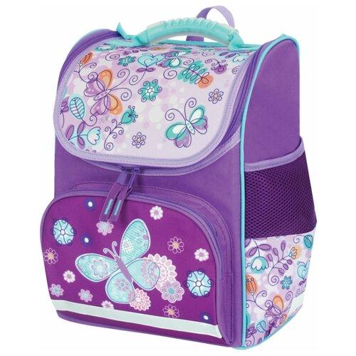 Пифагор ранец Basic Butterfly (228810), розовый/фиолетовый недорого
