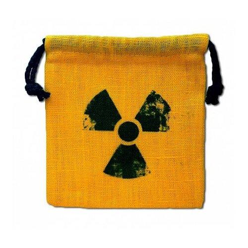 Купить Мешочек для кубиков Pandora's Box Studio Радиация желтый, Настольные игры