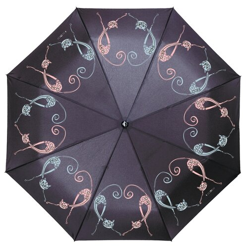 Зонт автомат FLIORAJ 190224 FJ черный рюкзак женский flioraj цвет черный 00058058