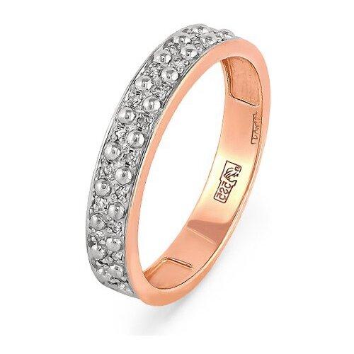 KABAROVSKY Кольцо с 21 бриллиантом из красного золота 1-0427-1000, размер 16 kabarovsky кольцо с 1 бриллиантом из красного золота 1 0336 1000 размер 16 5