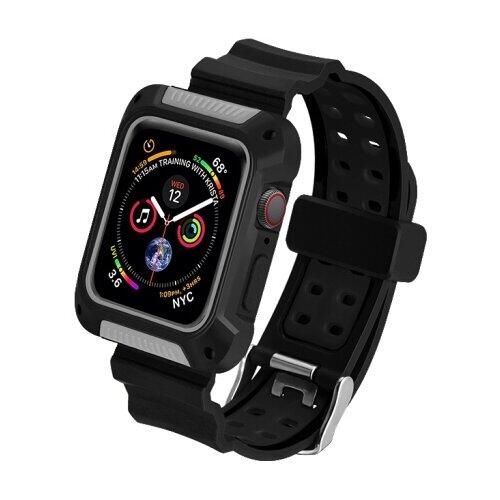 COTEetCI Ремешок W39 Integrated Movement Band для Apple Watch Series 4 40mm black/grey