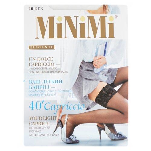 цена на Чулки MiNiMi Capriccio 40 den, размер 2-S/M, bianco (белый)